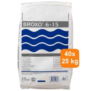 Broxo 1000 kg<br> 40 x 25 kg<br> € 5,95 per zak