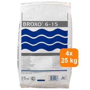 Broxo 100 kg<br> 4 x 25 kg<br> € 13,50 per zak