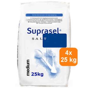 Suprasel 100 kg<br> 4 x 25 kg<br> € 13,50 per zak