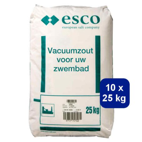 Vacuumzout 10x25kg