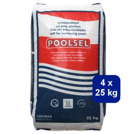 Poolsel 4x25kg