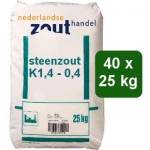 steenzout K1,4-0,4 40x25kg
